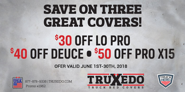 June Truxedo Rebate slider